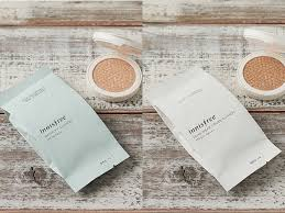 new cushion makeup by innisfree