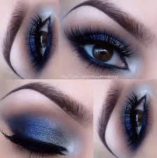 makeup for homeing blue eyes