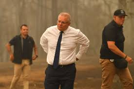 bush fires reveal Scott Morrison ...