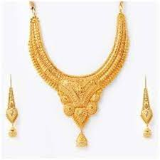 gold necklace lalitha jewellery mart