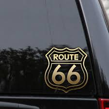 Pin On Route 66 Decal Sticker
