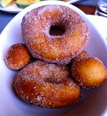 homemade old fashioned doughnuts or