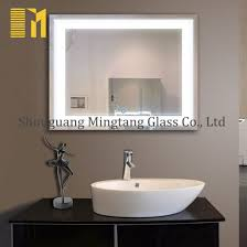 china bathroom mirrors manufactures led