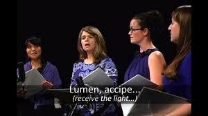 Lumen (Abbie Betinis) - chant & 3-part canon | Perf. Lumina - YouTube