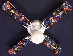 Superman Marvel Superhero Ceiling Fan 42 Ceiling Fans Kids Room Decor
