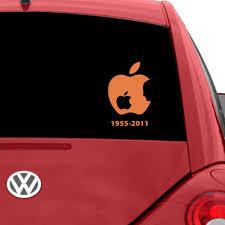 Steve Jobs Car Decal The Decal Guru