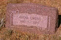 """Addeline Elizabeth Jane """"Addie"""" Smalley Owens (1887-1975) - Find A Grave  Memorial"""