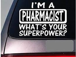 Amazon Com Brandvinyl I M A Pharmacist Sticker Decal Drugs Prescription Bottles Pharmacy Home Kitchen