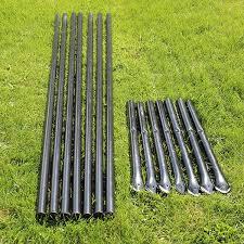6 H Deer Fence Heavy Line Posts 61 Pack Deerbusters Canada