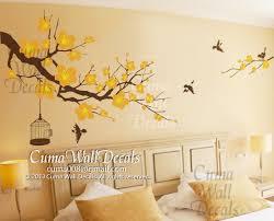 Nursery Wall Decal Cherry Blossom Tree By Cuma Wall Decals On Zibbet