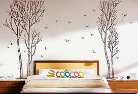 Wall Decor Decal Sticker Vinyl Large Birch Tree Forest 94 H Dc0238 Ebay