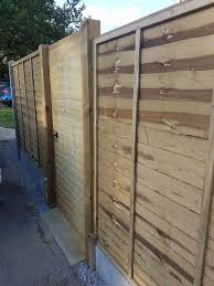 Green Overlap Panels Concrete Gravel Boards In Weston Southampton