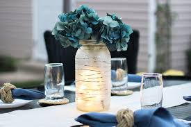 glass jars for diy wedding centerpieces