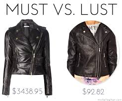 leather vs faux leather jacket