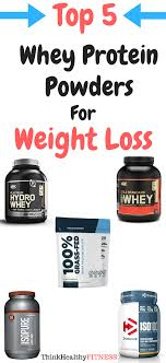 best whey protein isolate to lose