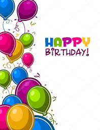 Photo Funny Birthday Editor Happy Birthday Balloons Card