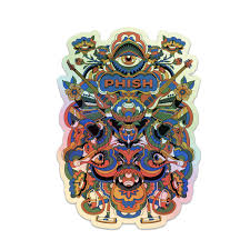 Visible Holographic Sticker Shop The Phish Dry Goods Official Store