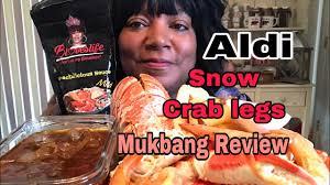 Aldi Snow Crab Legs review 음식 먹기 ...