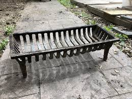 old cast iron fireplace grate victoria