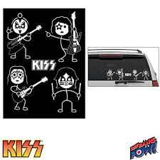 Kiss Window Decals Set Of 2 Sheets Sdc Buy Online In Bahamas At Desertcart