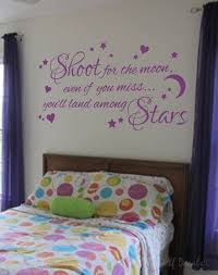 Shoot For The Moon Wall Decal Sticker