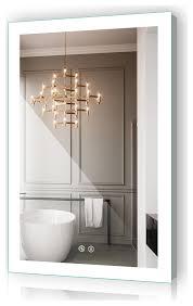 24 x36 bathroom led illuminated
