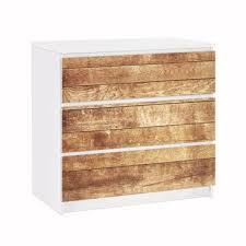 Furniture Decal For Ikea Malm Dresser 3xdrawers Nordic Wood Wall
