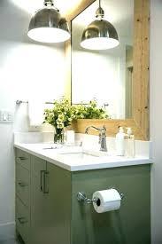 modern bathroom hanging vanity lights