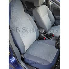 ford fiesta van seat covers chevron