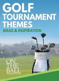 fun golf event tournament themes on