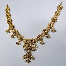 22k gold necklace choker