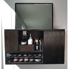 counter top makeup organizer vanity