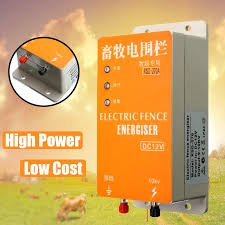 High Voltage Pulse Controller Electric Fencing Solar Electric Fence Energizer Charger Controller Shopee Philippines