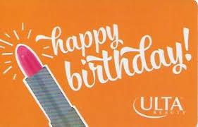 gift card happy birthday ulta