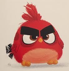 Angry birds red   Angry birds, Cartoon birds, Angry cartoon
