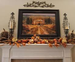 mantel decorating ideas with some