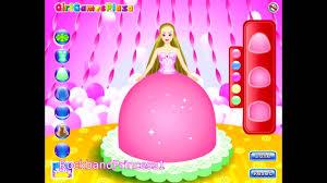 barbie cake decorating games