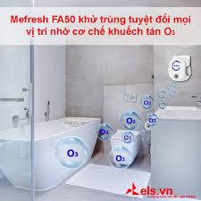 Máy Khử Mùi Diệt Khuẩn Nhà Vệ Sinh MFRESH FA50 - Thiết bị điện thông minh  ELS