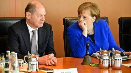 """Resultado de imagem para Ministro da Economia, Olaf Scholz, ."""""""