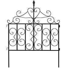 1 Decorative Fences Page 2 Amagabeli In 2020 Decorative Garden Fencing Metal Fence Panels Fence Panels