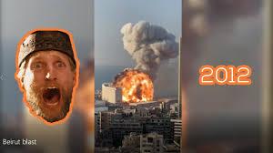 Beirut blast 2020 - YouTube