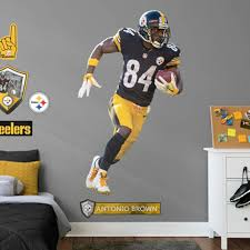 Antonio Brown Pittsburgh Steelers Fathead Player Life Size Removable Wall Decal