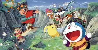 Xem phim Doraemon Movie 24: Nobita to Fushigi Kaze Tsukai - Vietsub HD