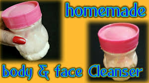 face and body cleanser for skin care