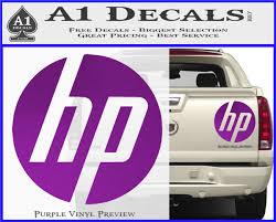 Hp Logo Decal Sticker Hewlett Packard A1 Decals