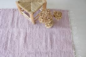 Large Woven Lilac Rug Handwoven Rug Area Rug Living Room Etsy Kids Room Rug Rugs In Living Room Handwoven Rugs