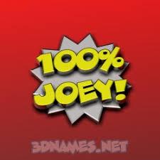 joey as a 3d wallpaper