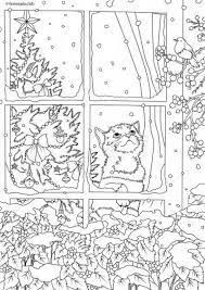 Image Result For Adult Christmas Coloring Pages Kleurplaten