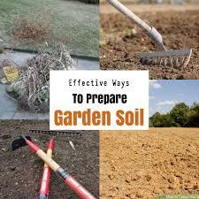 garden soil types of soil
