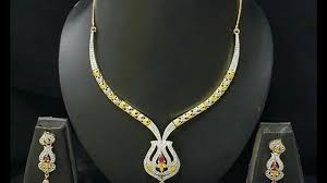 trendy white stone necklace designs